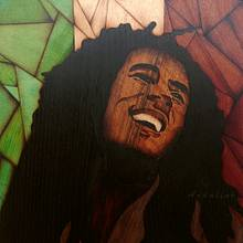 Bob Marley marquetry - Woodworking Project by Andulino