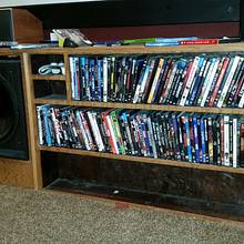 home theater built in - Woodworking Project by nuttboxxx