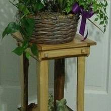 My Willow Table - Woodworking Project by MsDebbieP