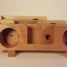 Passive phone amplifiers - Woodworking Project by David E.