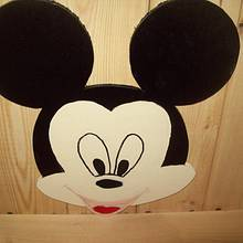 made a mickey mouse for my great grandson - Woodworking Project by jim webster