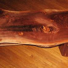 Live Edge Coffee Table - Woodworking Project by tinnman65