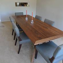 walnut table - Woodworking Project by Toothpick