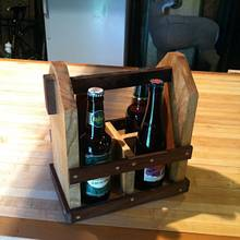 Beer tote - Woodworking Project by Vettekidd97