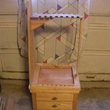 Fishing Pole Storage Cart - Woodworking Project by James L Wilcox