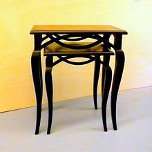 Open Apron Nesting Tables - Woodworking Project by shipwright