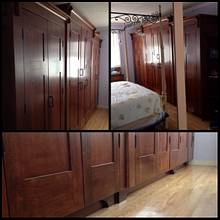 Bedroom wardrobe  - Woodworking Project by Narinder Jugdev