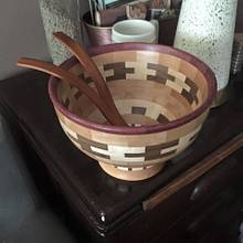 First Segmented Bowl - Woodworking Project by Bondo Gaposis
