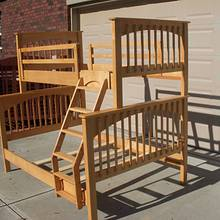 Grandkids Bunkbeds - Woodworking Project by Dorald
