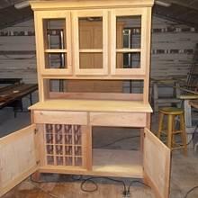 Cherry China Cabinet,  Cherry Wardrobe   - Woodworking Project by woodbutchersc
