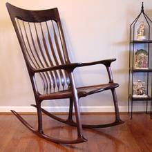 Sculpted Rocker - Built in 2012 - Woodworking Project by Tim Dahn