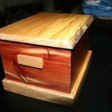 Treasure Box - Woodworking Project by Railway Junk Creations
