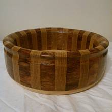 Bubinga and Oak Bowl - Woodworking Project by Will