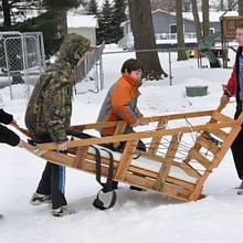 Boy Scout Klondike sled - Woodworking Project by GaryL