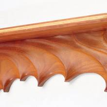 Sculpted Teak Wall Shelf - Woodworking Project by Greg