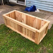 Cedar Vegetable Planter Box - Woodworking Project by Nick Endle