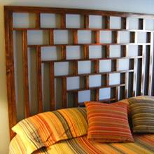 Custom Headboard - Woodworking Project by Joe