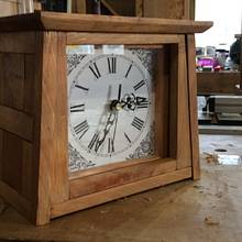 Arts and crafts style clock - Woodworking Project by Wolf (& Rabbit!)