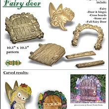 Secret Fairy Door - Woodworking Project by CNC Craze