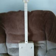 3 string cigar box guitar - Woodworking Project by jim webster