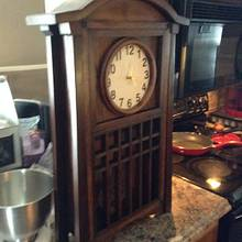 2nd clock - Woodworking Project by Jeff Moore