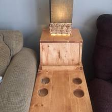 Super Cool Side Table - Woodworking Project by AcesWoodworking