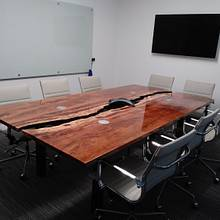 Sycamore live edge conference table - Woodworking Project by margery