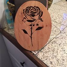 Rose plaque  - Woodworking Project by Berta