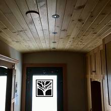 Mudroom/Laundry cabinets&ceiling - Woodworking Project by Narinder Jugdev