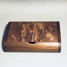 Small Walnut Box with Lift Lid - Woodworking Project by Roger Gaborski