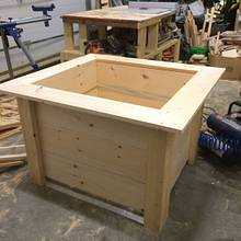 Extra large planters - Woodworking Project by Rosebud613