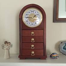 Mantel Clock - Woodworking Project by Dorald