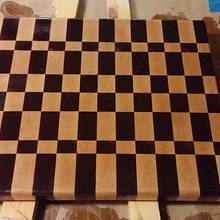 End grain cutting board - Woodworking Project by Brian