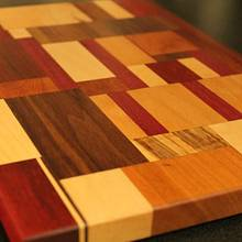 The Quilt Cutting Board - Woodworking Project by John