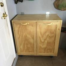 Laundry Cabinet - Woodworking Project by Angelo