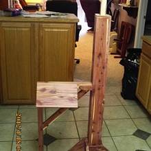 saddle stand - Woodworking Project by barnwoodcreations