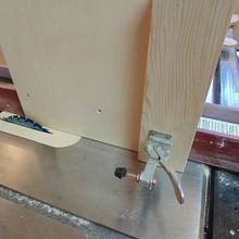 QUICK EASY AND INEXPENSIVE TENON JIG SETUP - Woodworking Project by kiefer