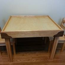 Table and Chairs / Leggo's Table - Woodworking Project by Jeff Vandenberg