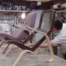 Chair frame replacation  - Woodworking Project by a1jim