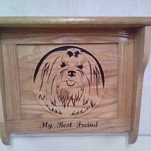 Dog shelf  - Woodworking Project by Rickswoodworks