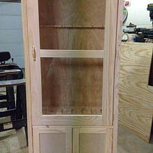 Gun cabinet  - Woodworking Project by Ed Schroeder