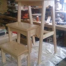 Folding Step Stool - Woodworking Project by Chris Tasa