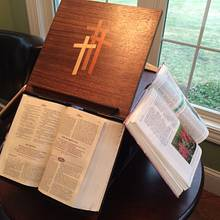 Jeffersonian Bookstand - Woodworking Project by Larry