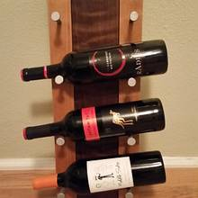 Wine Rack - Woodworking Project by David E.