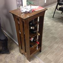 Wine rack - Woodworking Project by deckman