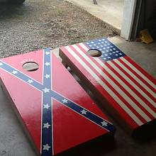 Corn hole game - Woodworking Project by jim webster