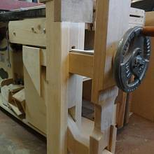 LEG VISE_KIEFER KNEE VISE  - Woodworking Project by kiefer