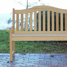 Memorial Bench - Woodworking Project by David E.