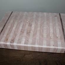 End grain Cutting Board - Woodworking Project by Wes Louwagie