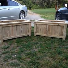 Garden Planter - Woodworking Project by Dusty1